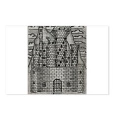 Crumbling Castle Two Postcards (Package of 8)