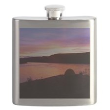 Sunset Camp Flask