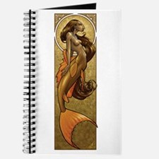 Bronze Mermaid Nouveau Journal