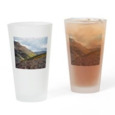 Painted Rocks Drinking Glass