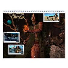 Men Of Fantasy Wall Calendar