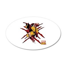 Wolverine Scratches Wall Decal