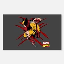 Wolverine Scratches Decal