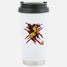 Wolverine Scratches Stainless Steel Travel Mug