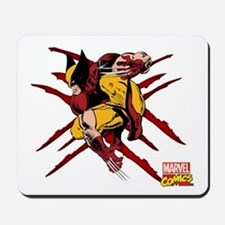 Wolverine Scratches Mousepad