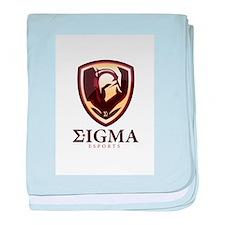 Sigma esports baby blanket