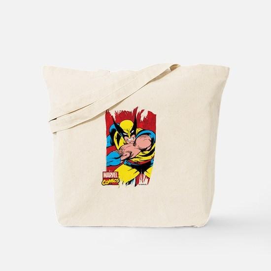 Wolverine Brush Tote Bag