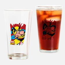 Wolverine Brush Drinking Glass