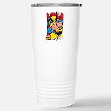 Wolverine Brush Stainless Steel Travel Mug