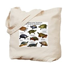 Freshwater Turtle of North America Tote Bag