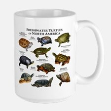 Freshwater Turtle of North America Coffee Mug