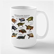 Freshwater Turtle of North America Large Mug