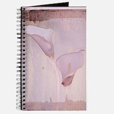 Pink calla lilies Journal