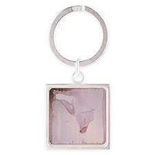 Pink calla lilies Keychains