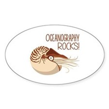 Oceanography Rocks! Decal