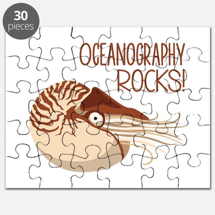 Oceanography Rocks! Puzzle