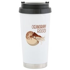 Oceanography Rocks! Travel Mug