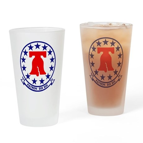 VP 66 Liberty Bells Drinking Glass