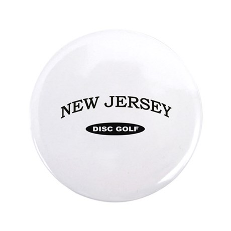"New Jersey Disc Golf 3.5"" Button"
