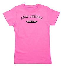 New Jersey Disc Golf Girl's Tee