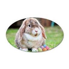 Easter Bunny Rabbit Wall Decal