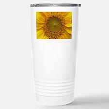 Helianthus Flower Travel Mug
