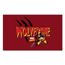 Wolverine Slash Decal
