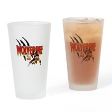 Wolverine Slash Drinking Glass