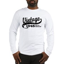 Vintage 1945 Long Sleeve T-Shirt