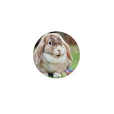 Easter Bunny Rabbit Mini Button (100 pack)