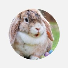 """Easter Bunny Rabbit 3.5"""" Button (100 pack)"""