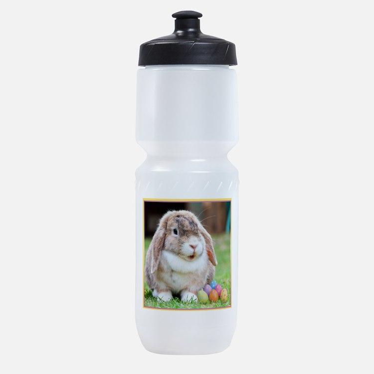 Easter Bunny Rabbit Sports Bottle