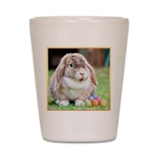 Easter Bunny Rabbit Shot Glass