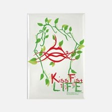 DCS KissFist Life Rectangle Magnet