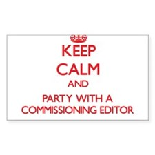 Keep Calm and Party With a Commissioning Editor St