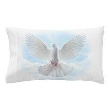 White Dove Pillow Case
