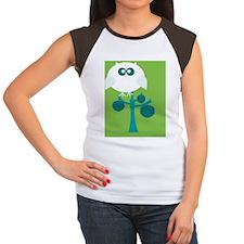 Hibou Women's Cap Sleeve T-Shirt