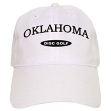 Oklahoma Disc Golf Baseball Cap
