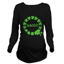 Leanbh Irish Baby Long Sleeve Maternity T-Shirt