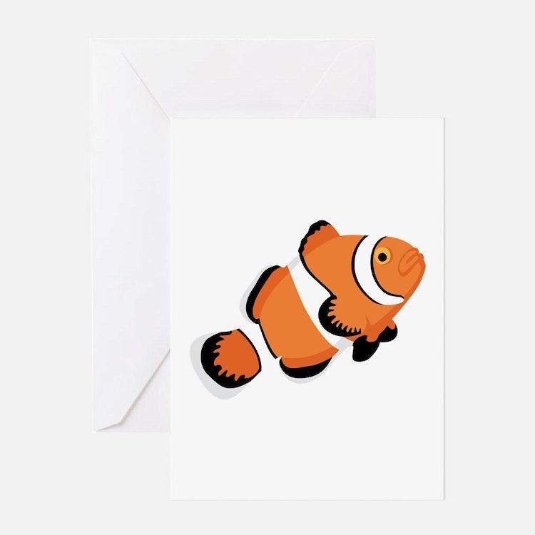Clown Fish Greeting Cards