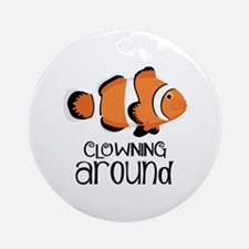 Clowning Around Ornament (Round)