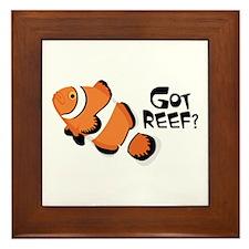 Got Reef? Framed Tile