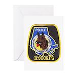 Baltimore Police K-9 Greeting Cards (Pk of 10)