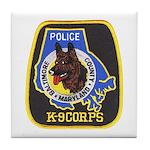 Baltimore Police K-9 Tile Coaster