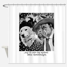 Aristocrat Dogs Shower Curtain