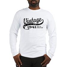 Vintage 1941 Long Sleeve T-Shirt
