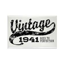 Vintage 1941 Rectangle Magnet