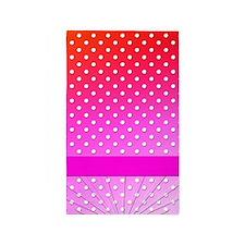 Lotsa dots 3'x5' Area Rug