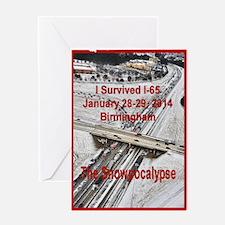 I-65 Birmingham Gridlock Greeting Cards