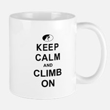 Keep Calm and Climb On Mug